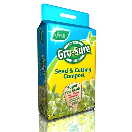 Westland Gro sure seed and cutting compost pouch