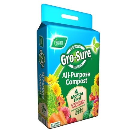 Westland Gro sure all purpose compost with 4