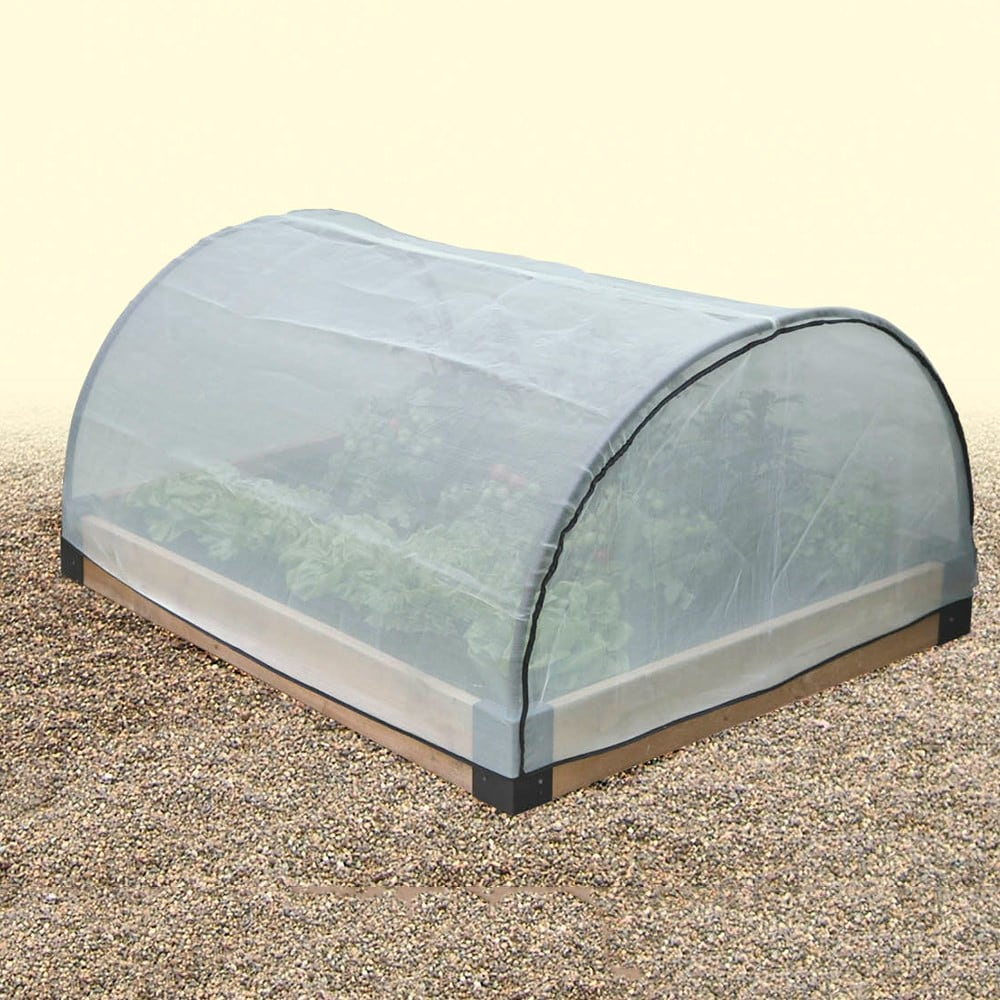 Buy Micromesh Pest Protection Cover For Wooden Raised Bed