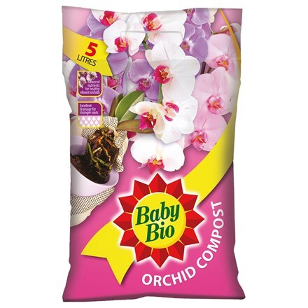 Baby Bio orchid compost