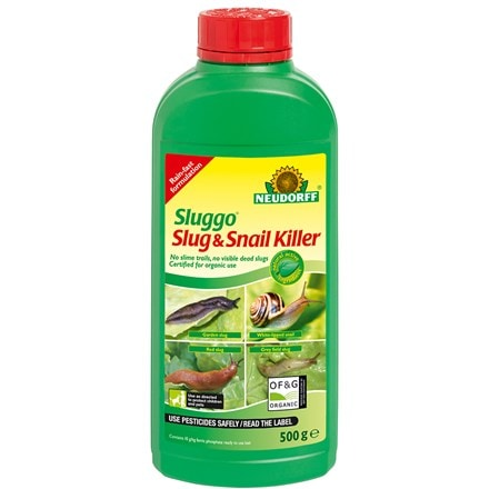 Organic slug and snail killer