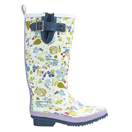 Lavender Garden wellington boots