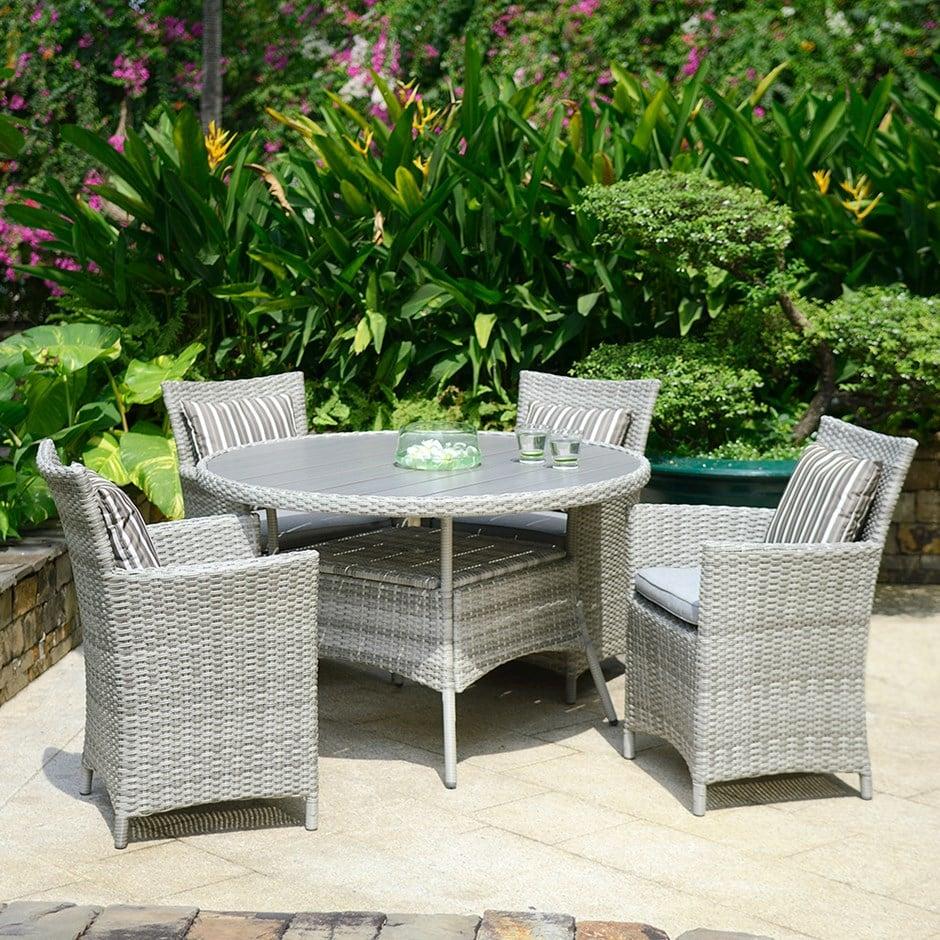 Buy Lifestyle Garden Aruba 4 seat dining set
