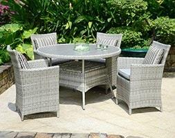 Lifestyle Garden Aruba 4 seat dining set