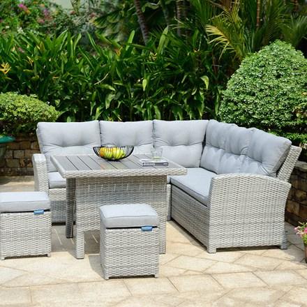 Lifestyle Garden Aruba corner sofa set