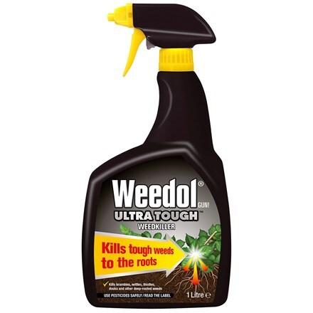 Weedol gun ultra tough weedkiller