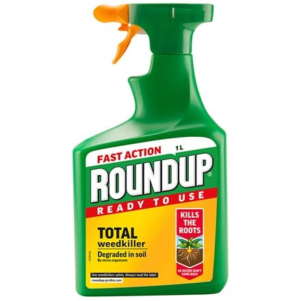 Roundup fast action weedkiller