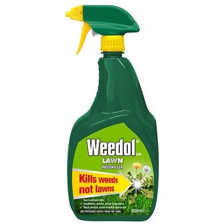 Weedol gun lawn weedkiller