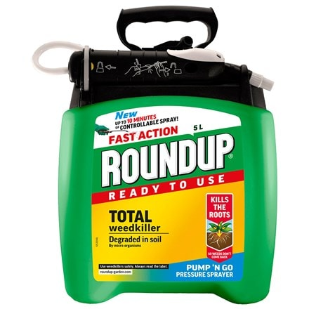 Roundup fast action total pump and go
