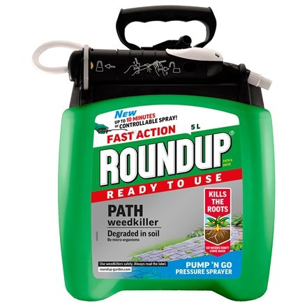 Roundup ready to use path weedkiller