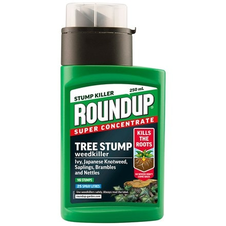 Roundup tree stump rootkiller
