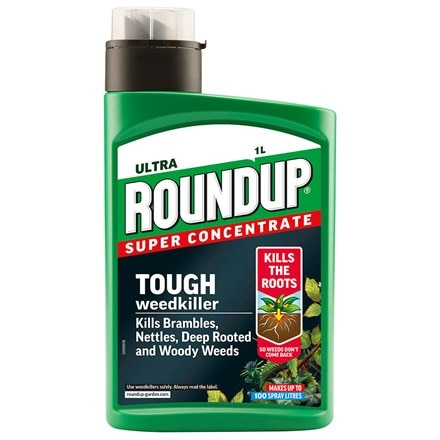 Roundup ultra tough weedkiller