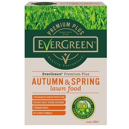 Evergreen premium plus autumn and spring lawn food