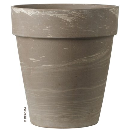 Planter vaso alto duo grafite