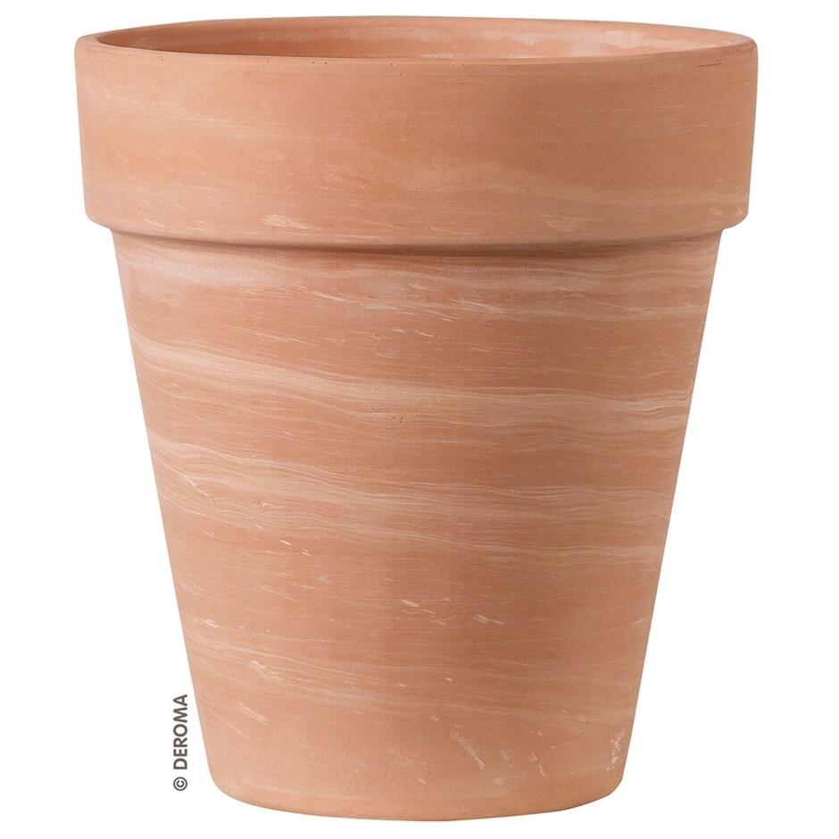 Planter vaso alto duo white