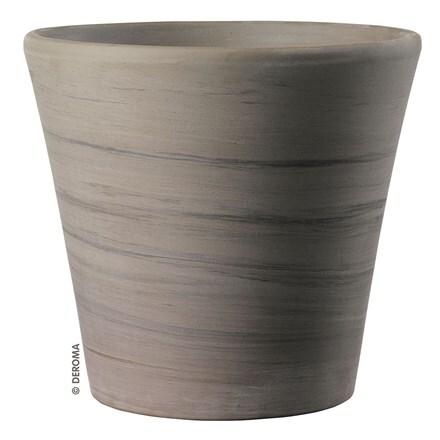 Planter vaso cono duo grafite