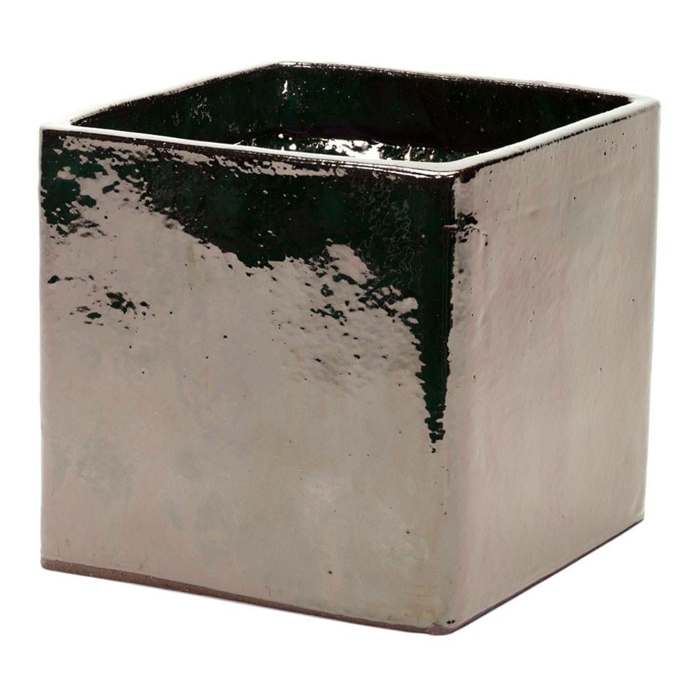 Mirror glazed cube