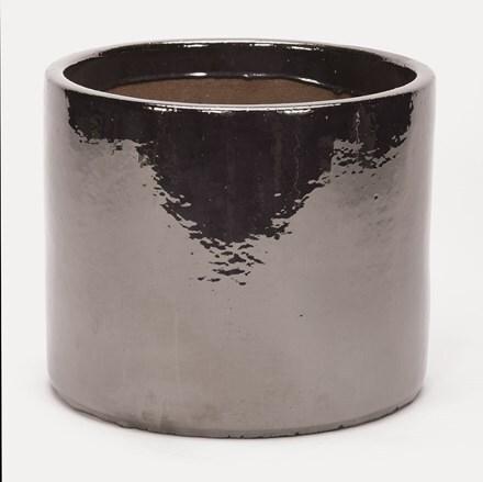 Mirror glazed cylinder