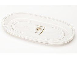 RHS white oval saucer
