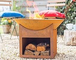 Fasa oxidised firepit