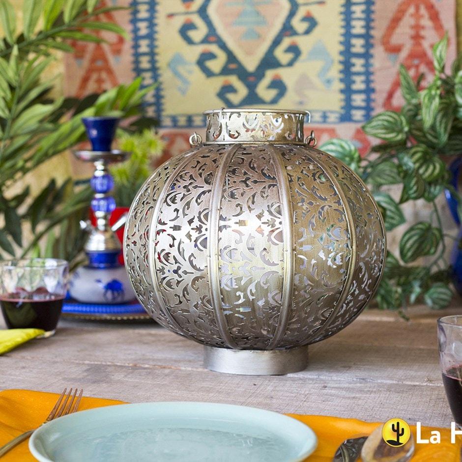 Moroccan globe lantern
