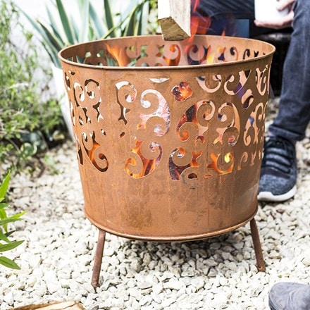 Cesta patterned firebasket