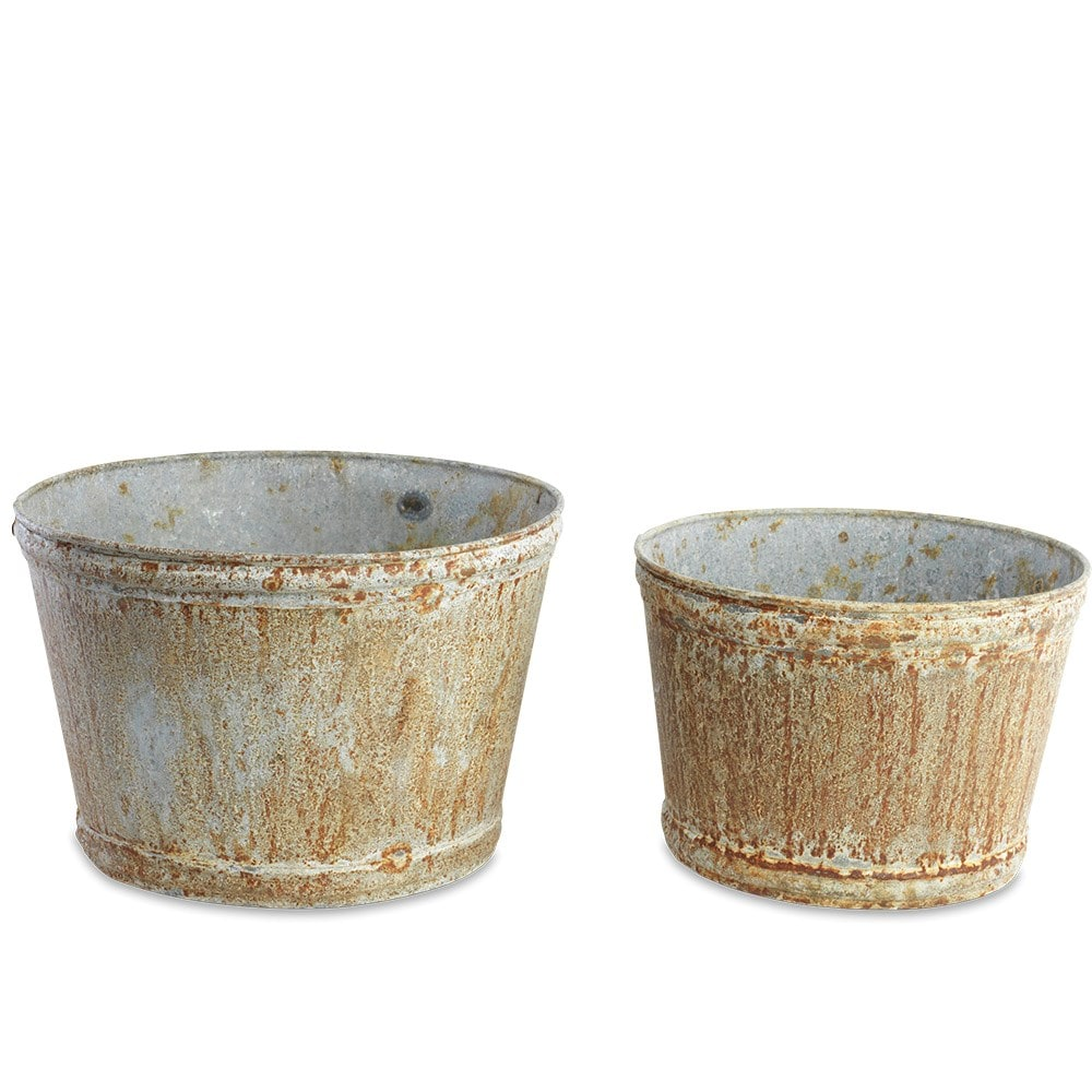 Abari wide zinc pot