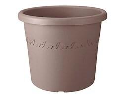 Algarve cilindro taupe wheeled pot
