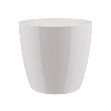 Brussels diamond round pot cover white