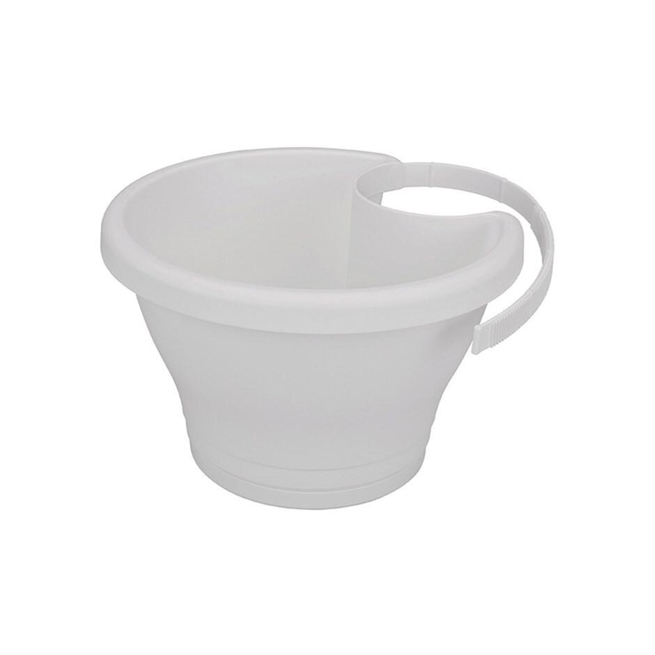 Corsica drainpipe clicker pot white