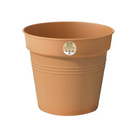 Green basics growpot terracotta