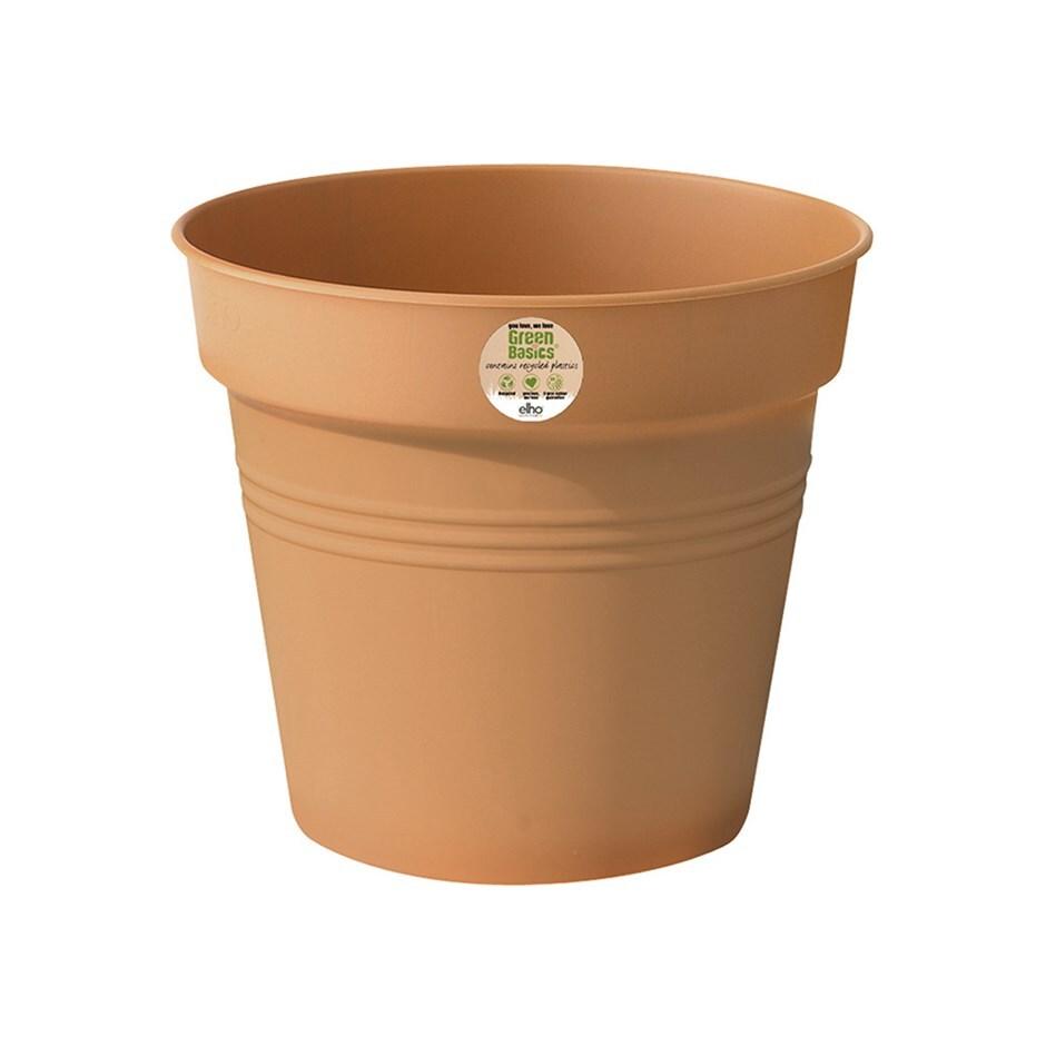 Green basics growpot terracotta