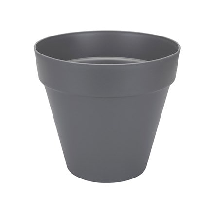 Loft urban pot with wheels anthracite