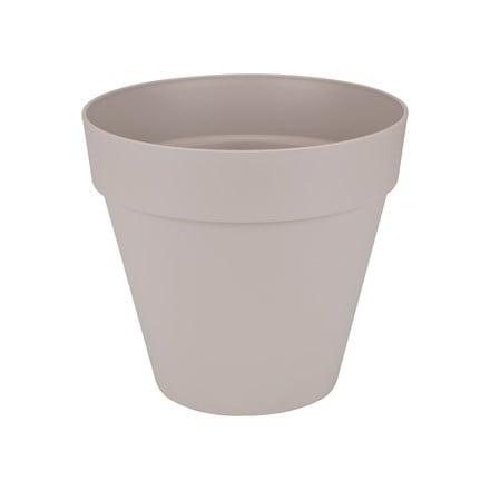 Loft urban pot with wheels warm grey