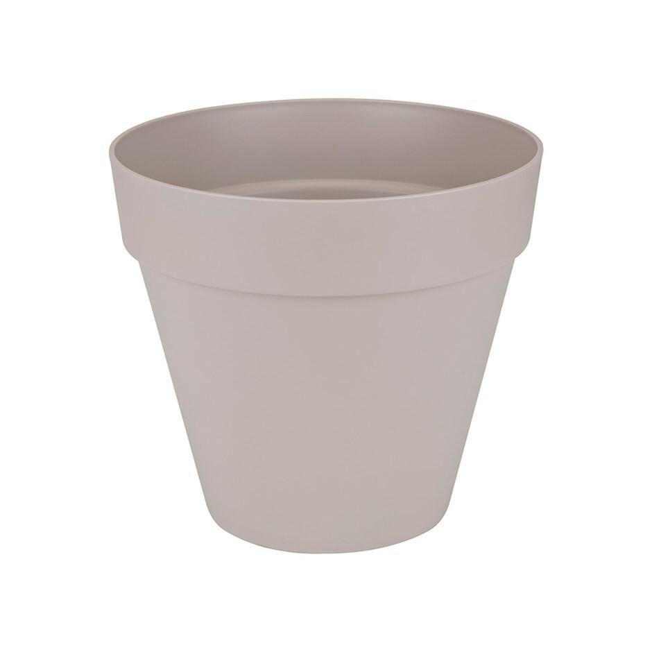 Loft urban pot with wheels warm grey