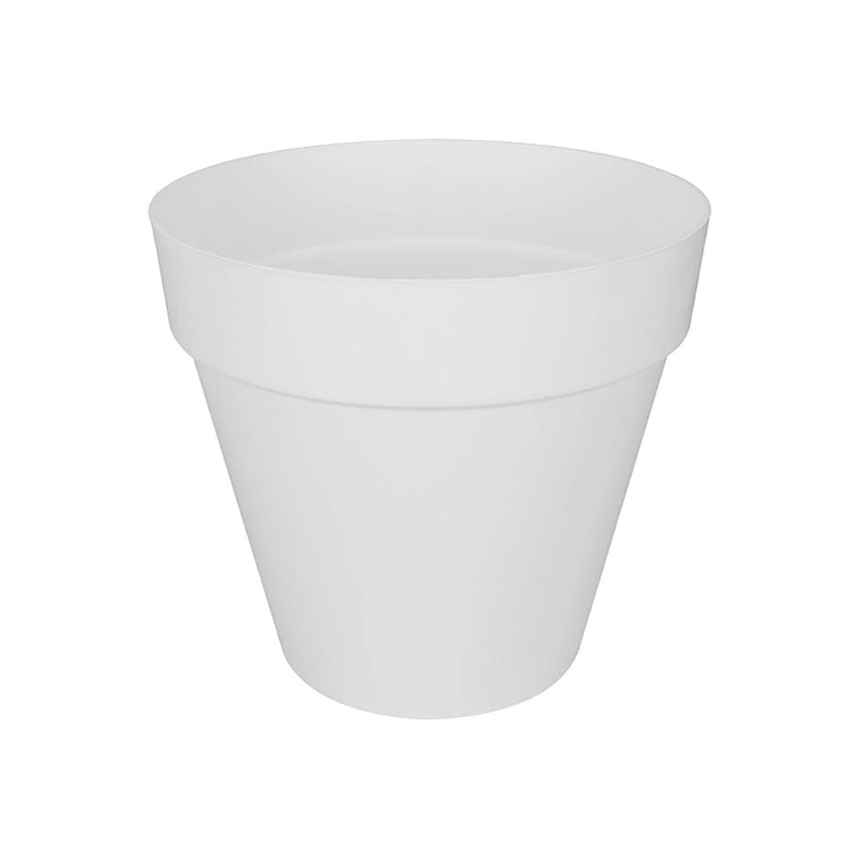 Buy Loft Urban Pot With Wheels White