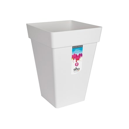 Loft urban square high pot white