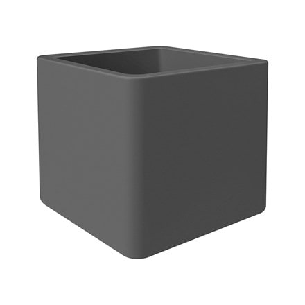 Pure soft square pot anthracite