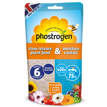 Phostrogen slow release plant food & water retaining gel