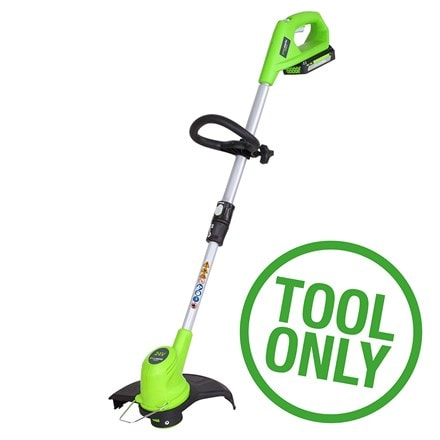 Cordless Greenworks G24LT30 24V string trimmer - tool only