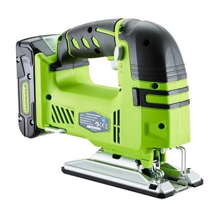 Cordless Greenworks G24JS 24V jigsaw - tool only