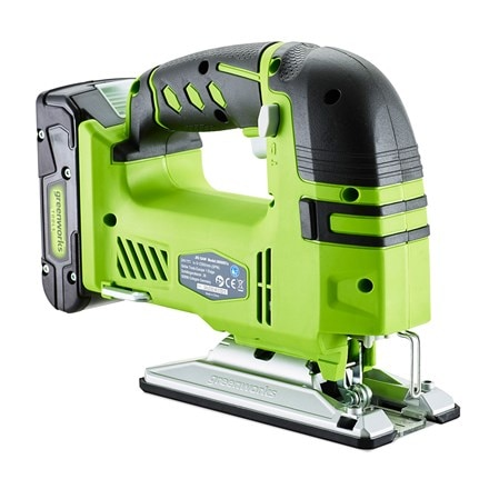 Cordless Greenworks G24JS 24V jigsaw - tool only