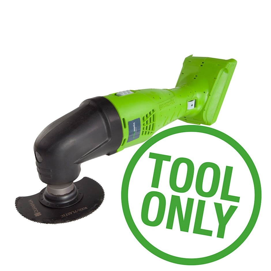 Cordless Greenworks G24MT 24V multi tool - tool only