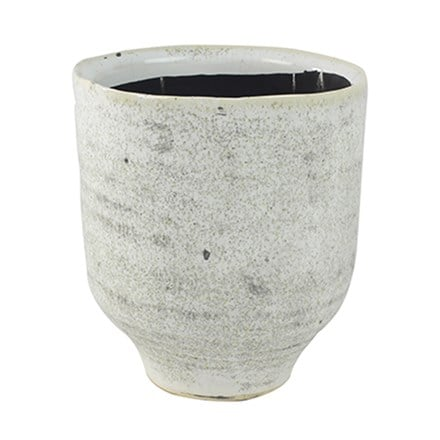 Fenna orchid pot off white