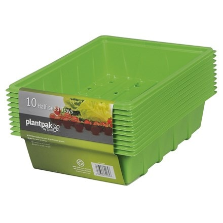 Plantpak half seed trays - set of 10