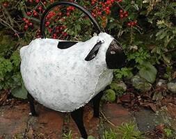 Ornamental watering can - sheep