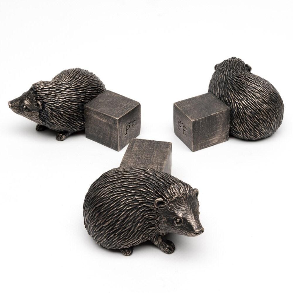 Potty feet bronze hedgehog