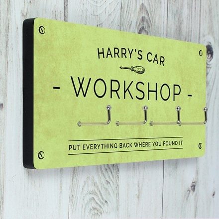 Personalised tool hanger