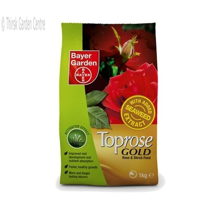 Toprose gold premium rose and shrub feed