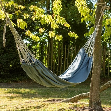 Canvas hammock - denim